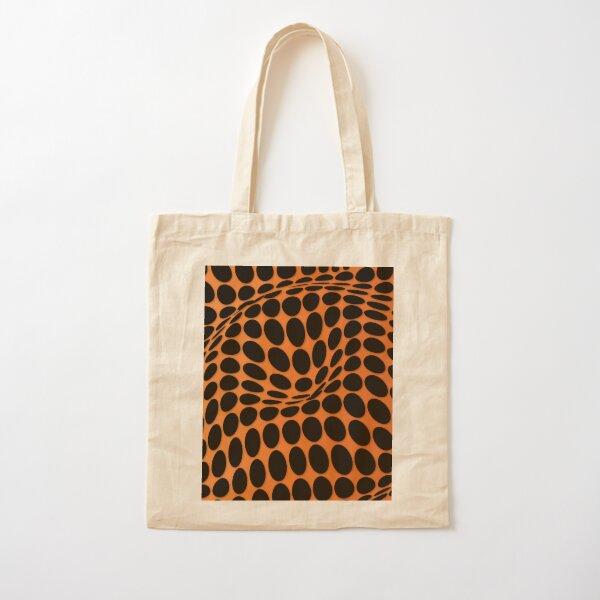 COME INSIDE (ORANGE) Bolsa de algodón