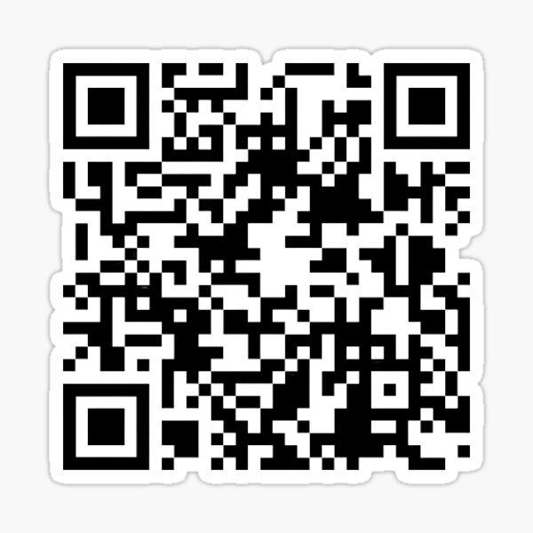 Código QR de BTS Spring Day Pegatina