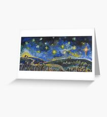 Long Journey to Bethlehem Greeting Card