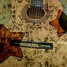 Vintage Guitar Stars by jewelsofawe