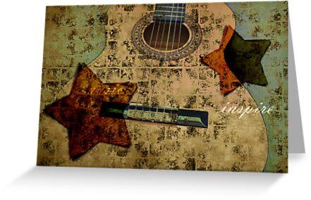 Vintage Guitar Stars by jewelsofawe