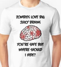 Juicy Brains Unisex T-Shirt