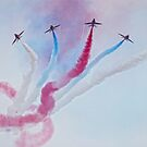 The Red Arrows  by Selina Ryles