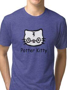 Potter Kitty Tri-blend T-Shirt