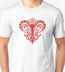 Zodiac Sign Aries Red T-Shirt