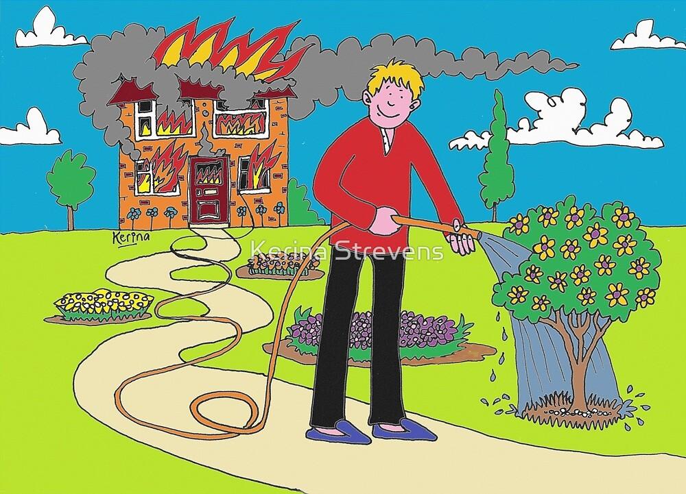 On Fire For Gardening by Kerina Strevens