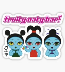 Fruity Oaty Bar! Shirt (Firefly/Serenity) Sticker