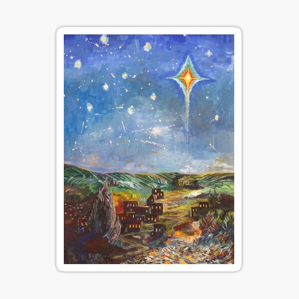 Star over Bethlehem Sticker