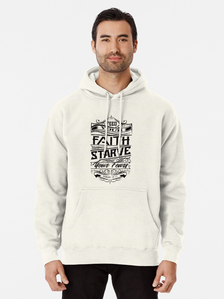 Alternate view of Feed Your Faith Pullover Hoodie