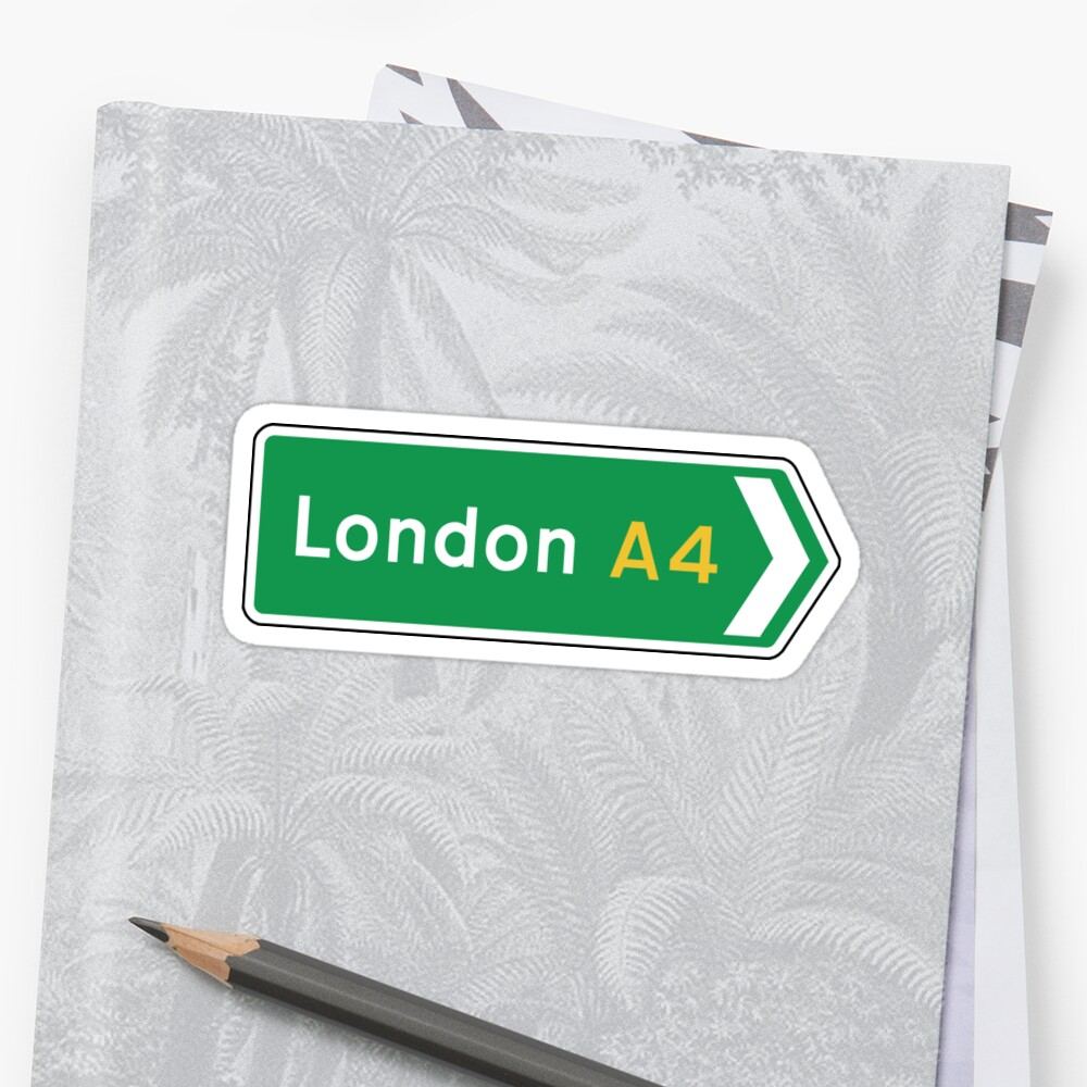 London, Road Sign, UK  by worldofsigns