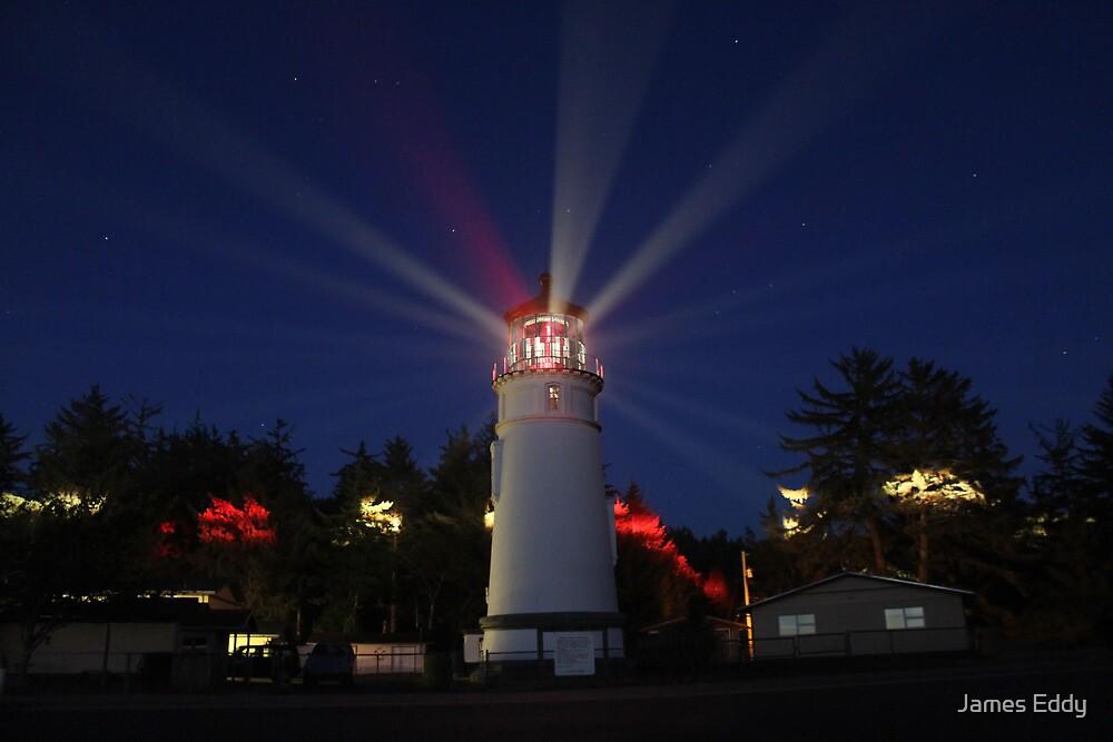 Umpqua Lighthouse by James Eddy