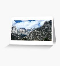 Sierras Greeting Card
