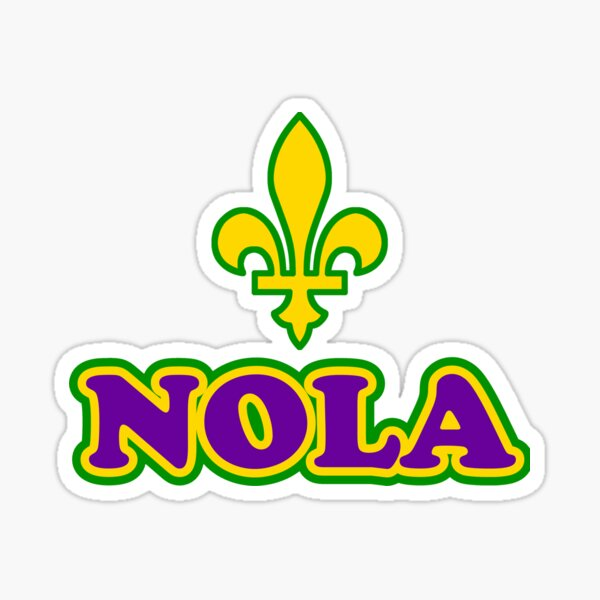 NOLA New Orleans Louisiana Sticker