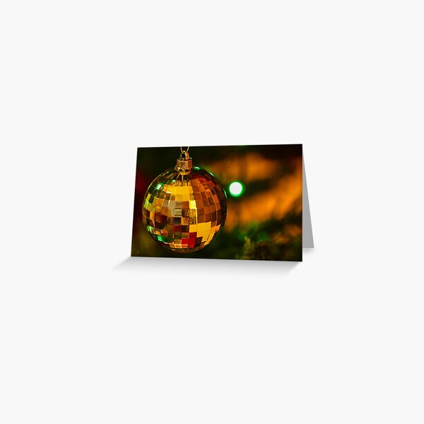 Festive Bauble Greeting Card