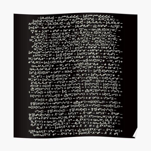 The Standard Model - A Love Poem Poster