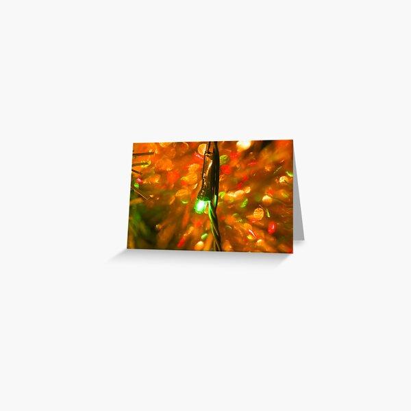 Fairy Light Sparkle Greeting Card