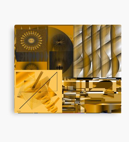 Energizing Collage Canvas Print