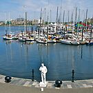 Plasterman #1, Victoria Harbour, BC, Canada.  by johnrf