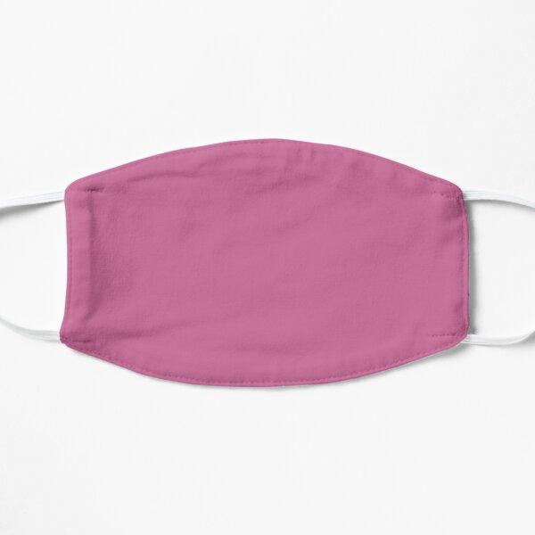 Palevioletred color face mask, color pale violet Flat Mask