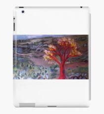 Red tree  iPad Case/Skin