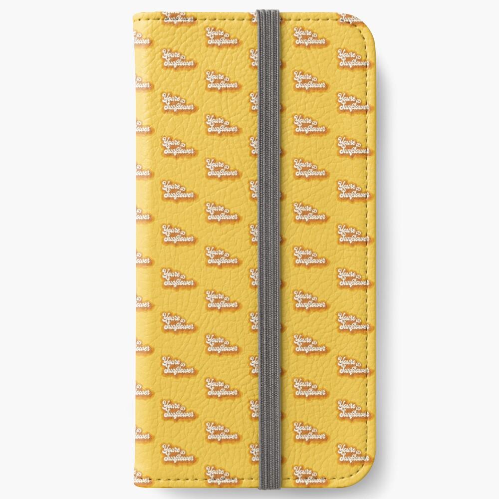 Sunflower iPhone Wallet