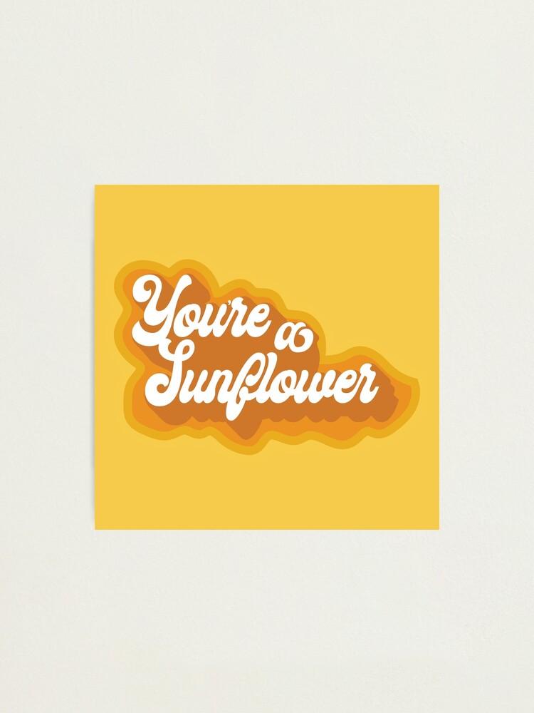 Alternate view of Sunflower Photographic Print