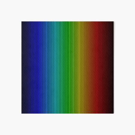 Spectral Lines of Krypton Art Board Print