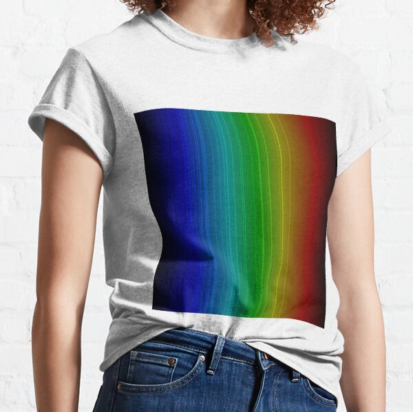 Spectral Lines of Krypton Classic T-Shirt