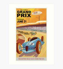 Mercury Travel Poster Art Print