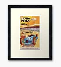 Mercury Travel Poster Framed Print