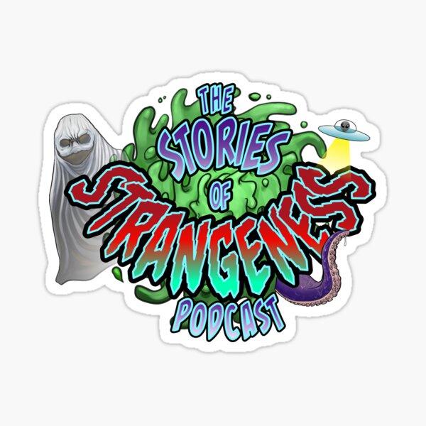 Stories of Strangeness Logo Sticker