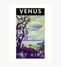 Venus By Air Travel Poster Art Print