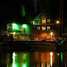 Isaacs at Night, Neptune Quay, Ipswich by wiggyofipswich