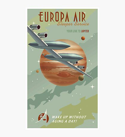 Jupiter Travel Poster Photographic Print