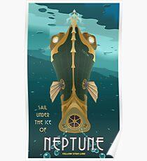 Neptune Travel Poster Poster