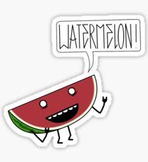 WATERMELON!!!! Sticker