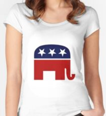 GOP Women's Fitted Scoop T-Shirt