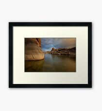 Sneak Around Framed Print