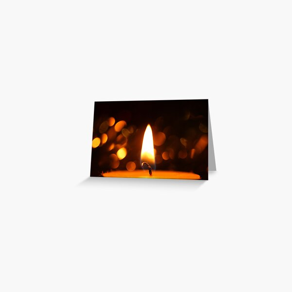 Light up the Dark Greeting Card