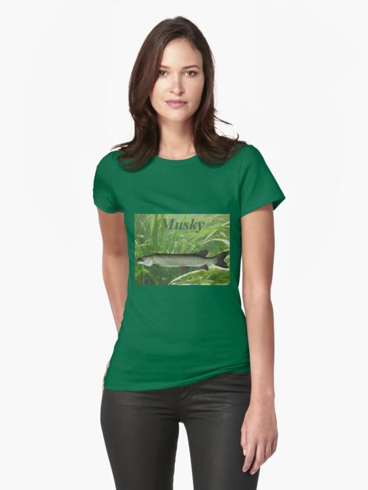 Musky Womens T-Shirt Front