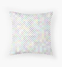 Multi-color Fishscale Pattern  Throw Pillow