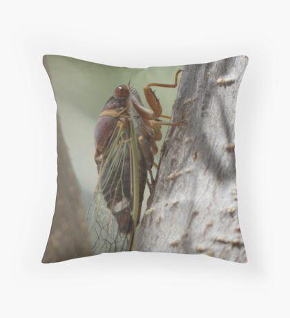 Cicada (Cactus Dogders) Throw Pillow
