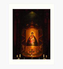 Our Lady Of Aglona Art Print