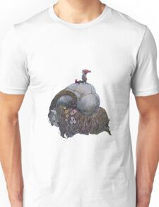 Scandinavian Jullbocken Yule Goat After John Bauer T-Shirt
