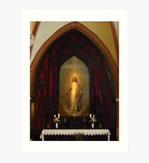 The Altar, St James Cathedral, Riga Art Print