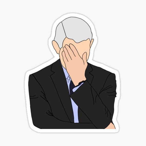Disappointed Dr. Fauci Sticker