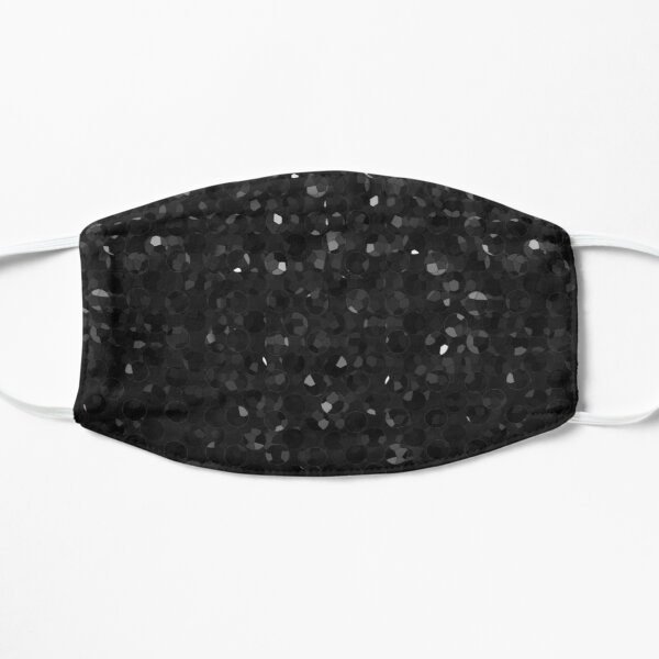 Black Crystal Bling Strass G283 Flat Mask