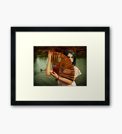 Caught in the moment that never came Framed Print