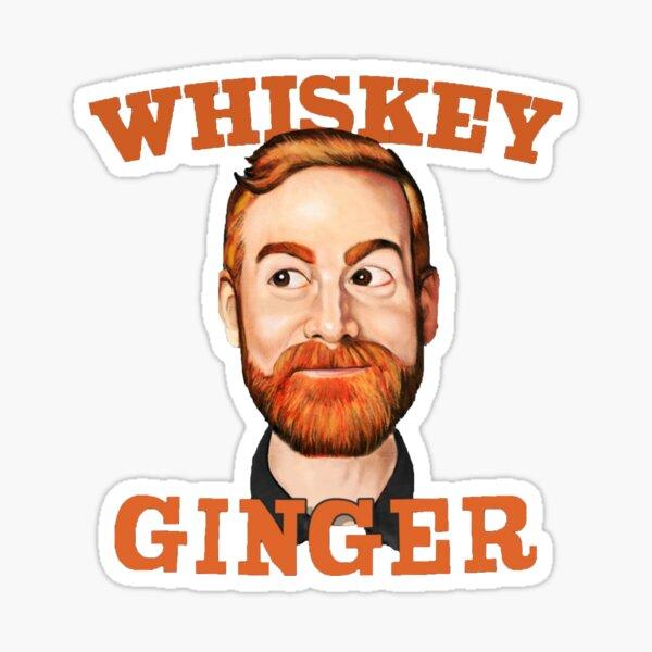 Andrew Santino 'Whiskey Ginger' Podcast Sticker