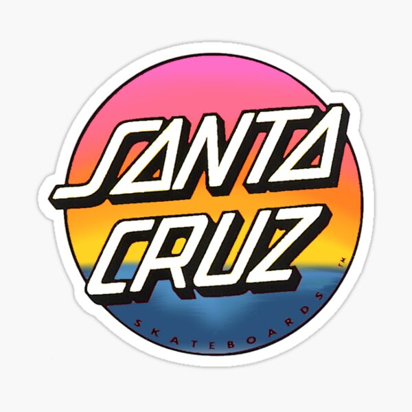 Santa Cruz Pegatina